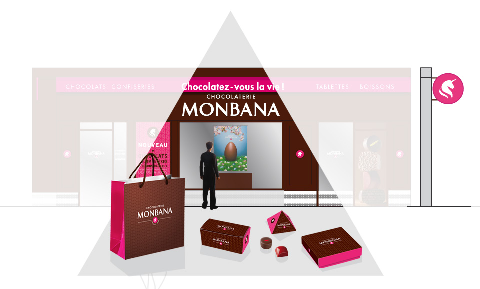 Retail + packagings Monbana