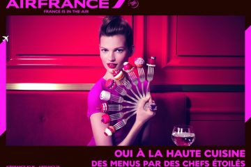 Campagne communication - Air France - Photographies Sofia & Mauro