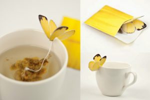 Créativité - Packagings - Thé - BUTTERFLY TEA - Yena Lee