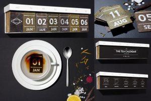 Créativité - Packagings - Thé - TEA CALENDAR - Hälssen & Lyon