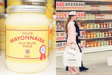 Défilé Chanel - Karl Lagerfeld - Grand Palais - Supermarché 2