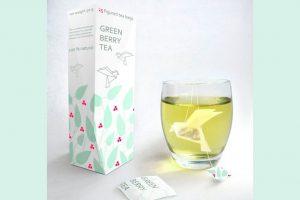 Créativité - Packagings - Thé - GREEN BERRY TEA - Natalia Ponomareva