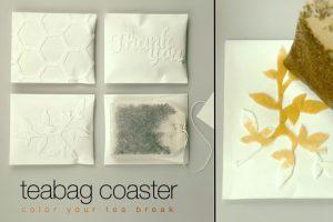 Créativité - Packagings - Thé - TEA BAG COASTER - S.Hwang, Jieun Yang