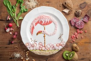 Food art original - Printemps - Anna Keville Joyce 5