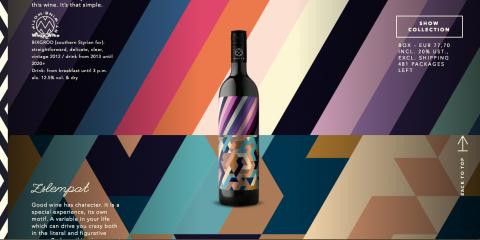 Motif Wine - Design bouteilles
