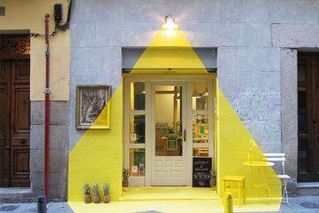 Fos - Trompe l'oeil - Installation lumineuse - Madrid, Espagne