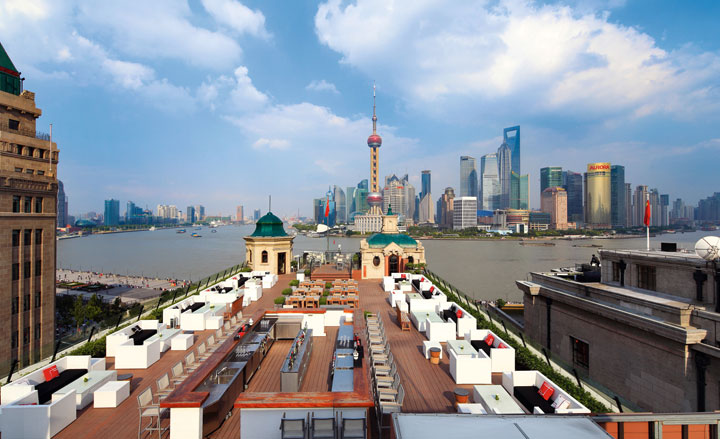Rooftops & Skybars : Swatch Art Peace Hotel - Shangai - Chine