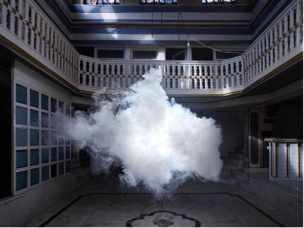 Machine à nuages - Berndnaut Smilde