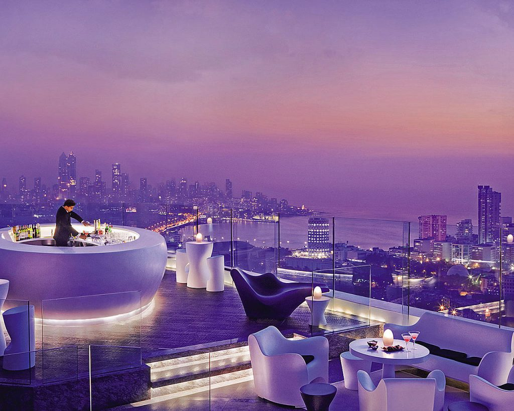 Rooftops & Skybars : Aer - Four Seasons - Mumbaï - Inde