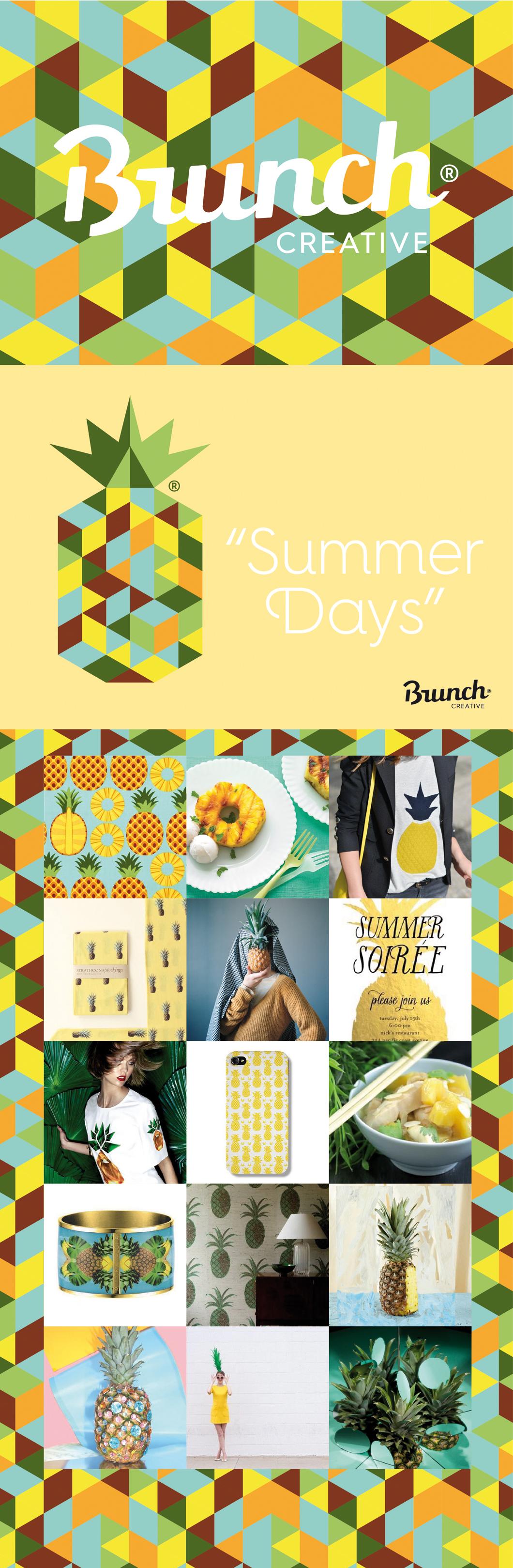 Summer days - Ananas - Brunch Creative