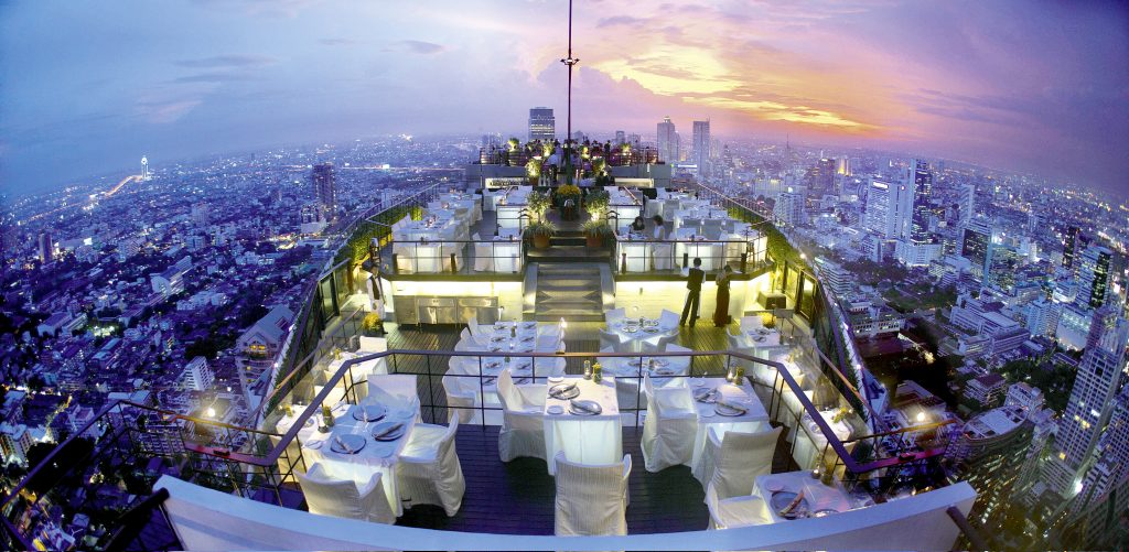 Rooftops & Skybars : Vertigo and Moon Bar - Banyan Tree Hotel - Bangkok - Thaïlande