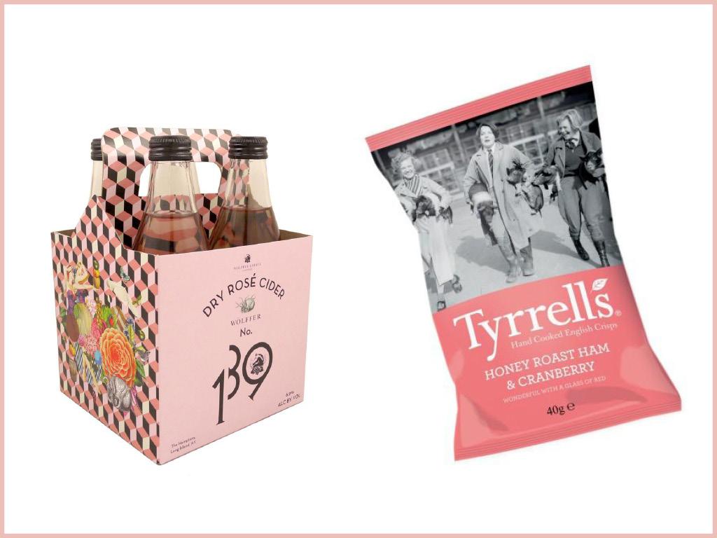La vague rose - Cidres, Champagnes, Rosés aromatisés : 139 Cider & Chips Tyrell's