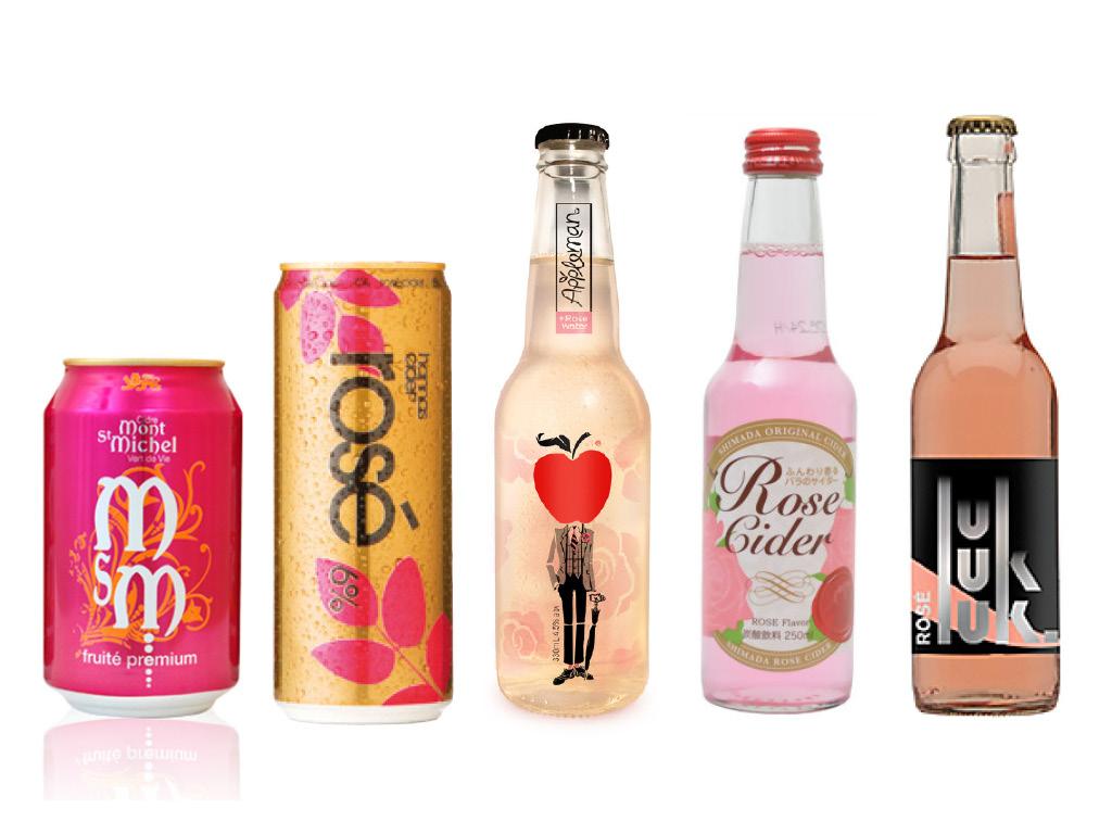 La vague rose - Cidres, Champagnes, Rosés aromatisés : Cidres rosés