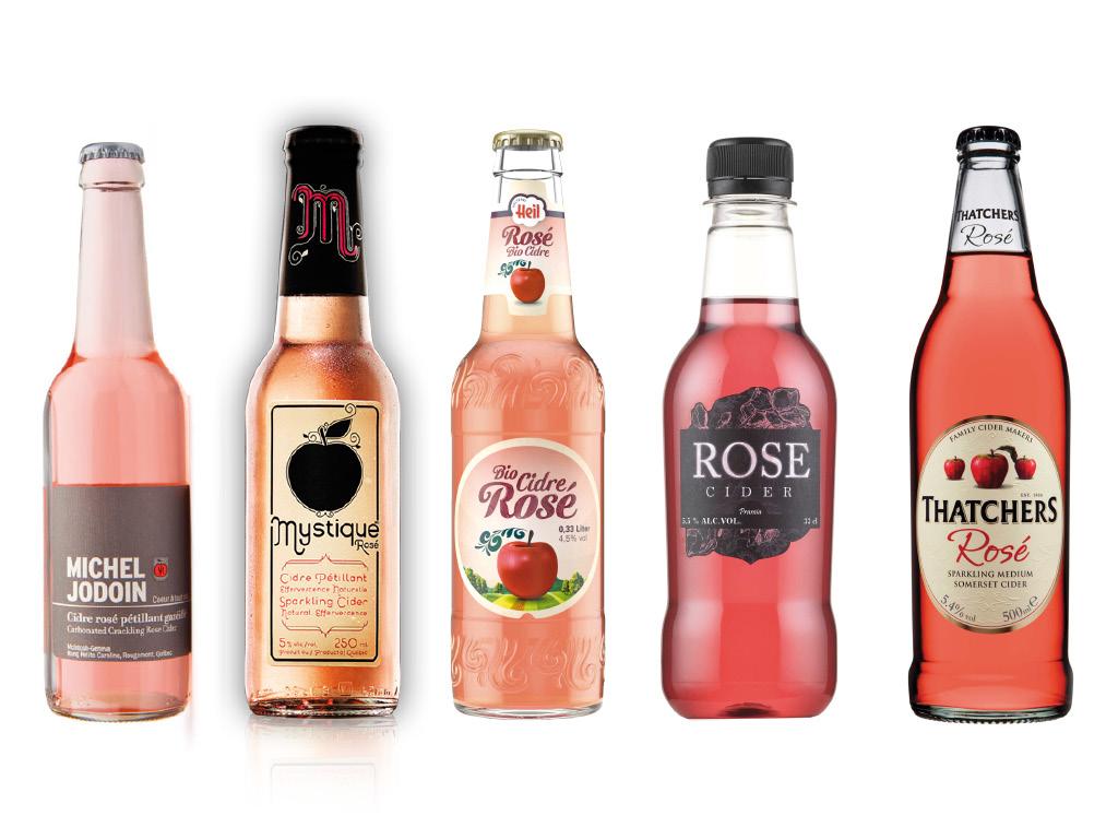 La vague rose - Cidres, Champagnes, Rosés aromatisés : Cidres rosés 2