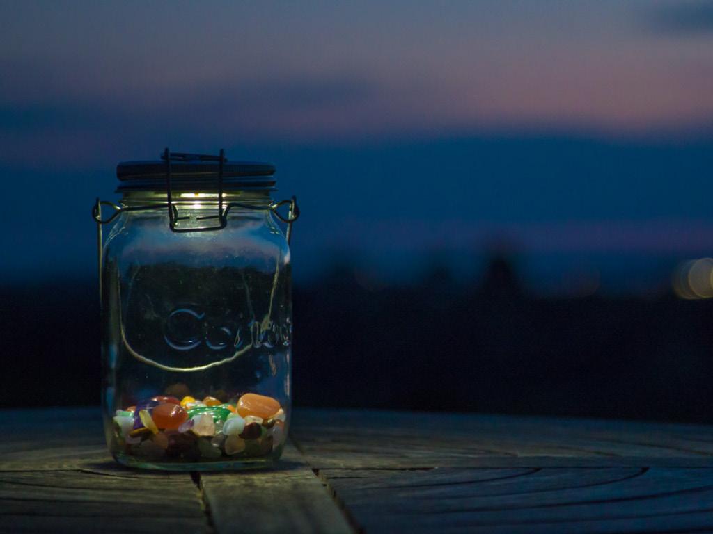 Lampe solaire à LED - Solar Jar - Consol 3