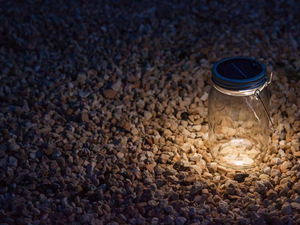 Lampe solaire à LED - Solar Jar - Consol