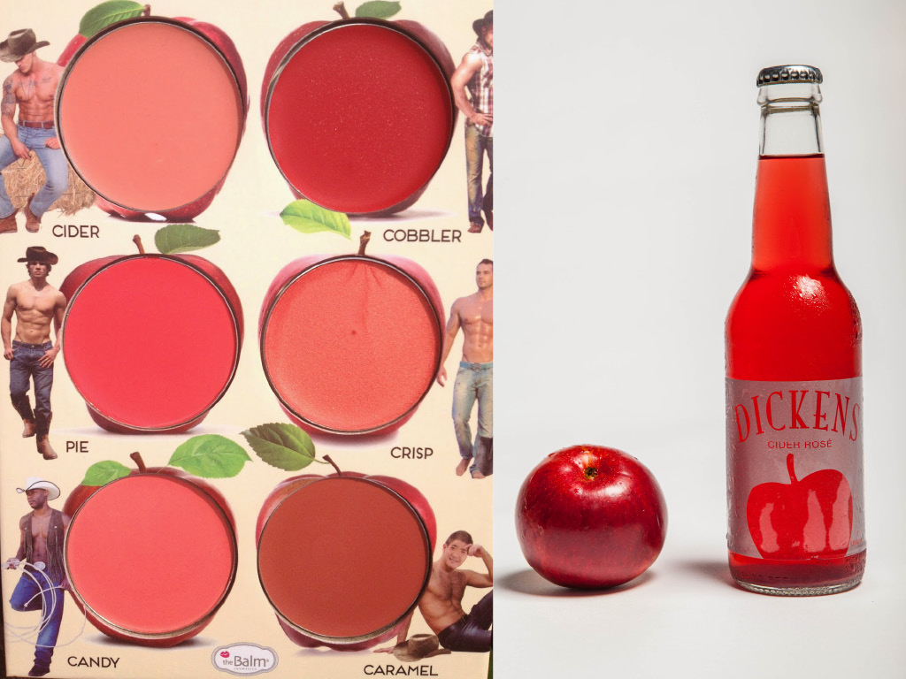 La vague rose - Cidres, Champagnes, Rosés aromatisés : The Balms Cosmetics & Dickens Cider