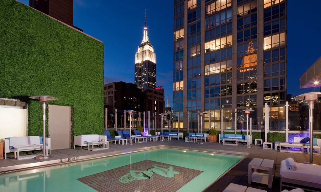 Rooftops & Skybars : Gansevoort - New York - USA