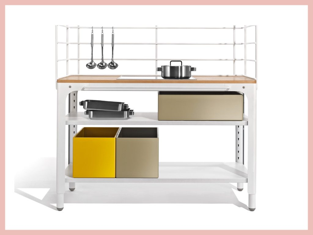 Concept Kitchen : cuisine modulable Grille - Naber - Kilian Schindler