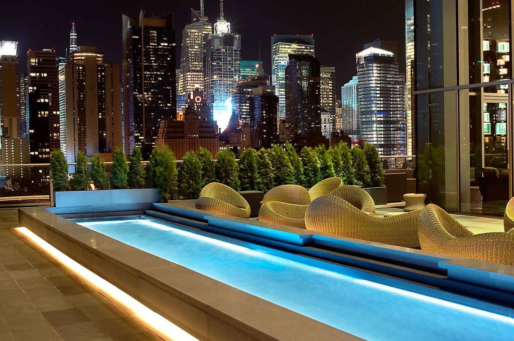 Rooftops & Skybars : The Press Lounge - New York - USA