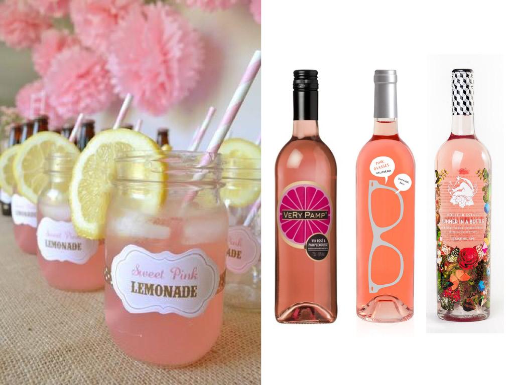 La vague rose - Cidres, Champagnes, Rosés aromatisés : Limonades & Funky rosés - Very Pamp'