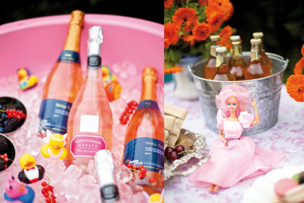La vague rose - Cidres, Champagnes, Rosés aromatisés : Rosie Parsons Photography