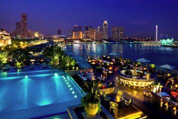 Rooftops & Skybars : Lantern - Fullerton Bay Hotel - Singapour