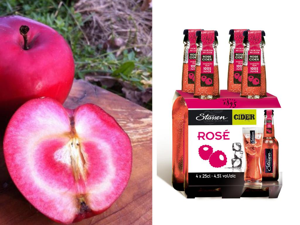 La vague rose - Cidres, Champagnes, Rosés aromatisés : Stassen Cider