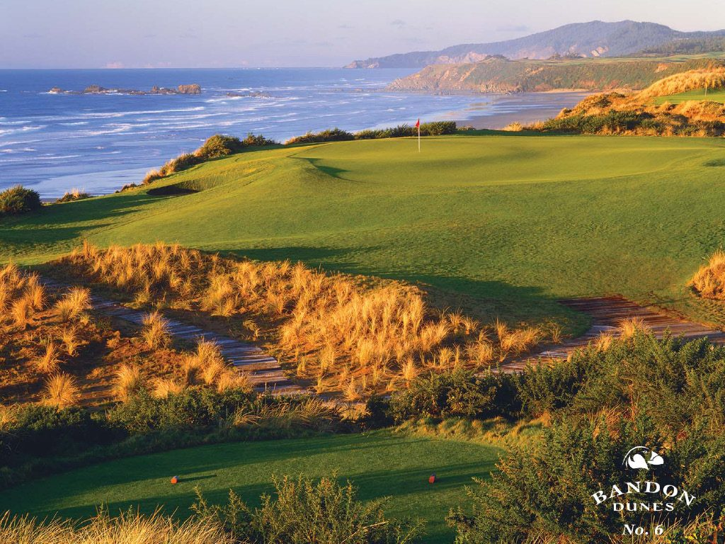 Golfs & Resorts : Bandon Dunes Golf Resort - USA