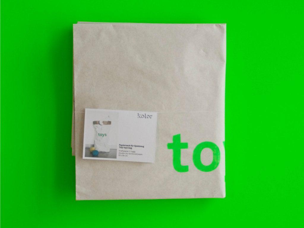 Sac papier - Emballage - Kolor 2