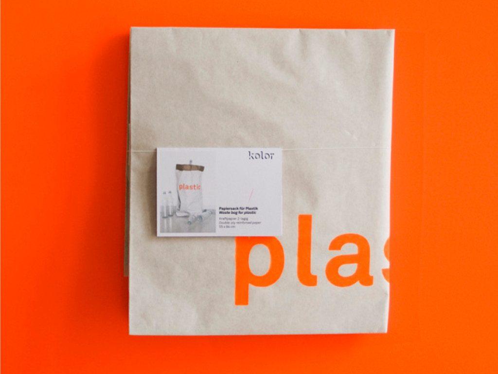 Sac papier - Emballage - Kolor 3