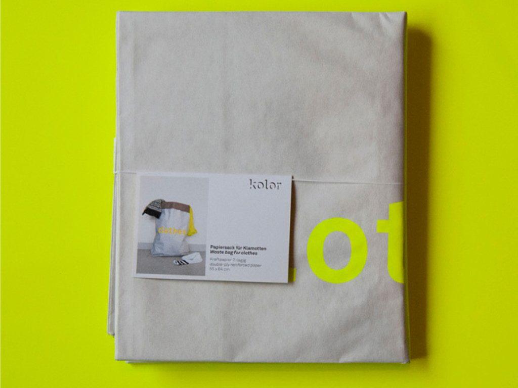 Sac papier - Emballage - Kolor 5