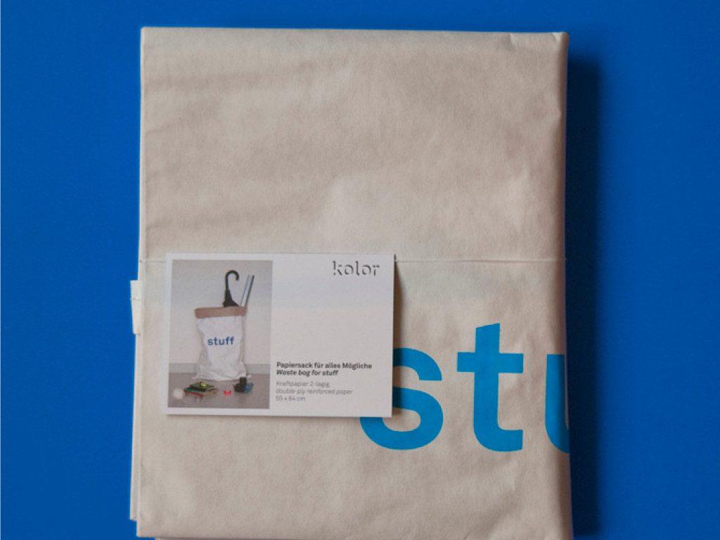 Sac papier - Emballage - Kolor 4