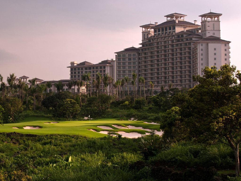 Golfs & Resorts : Mission Hills  - Shenzhen - Chine