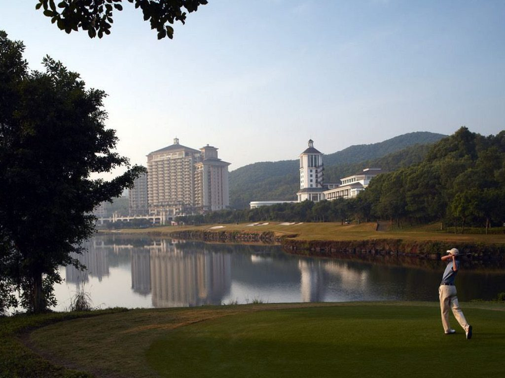 Golfs & Resorts : Mission Hills  - Shenzhen - Chine 2