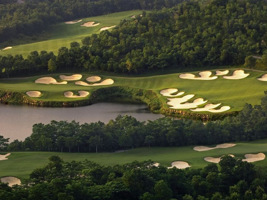 Golfs & Resorts : Mission Hills  - Shenzhen - Chine 3