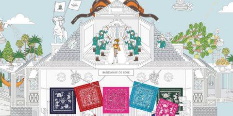 E-commerce - Site La Maison des Carrés - Hermès