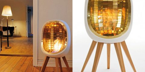 Cheminée design à emporter - Fredrik Hyten Cavallius