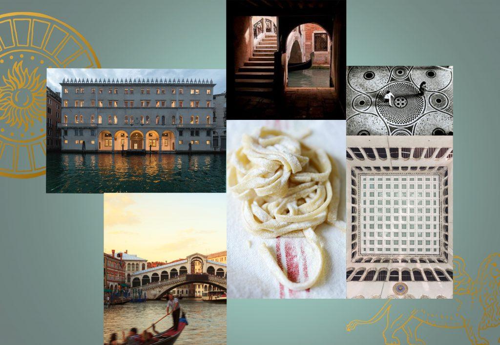 Moodboard inspiration spécialités italiennes