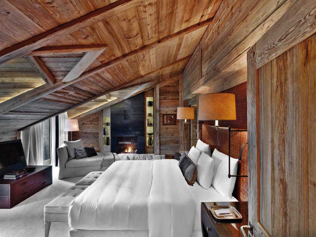 Hôtel Alpina Gstaad - chambre