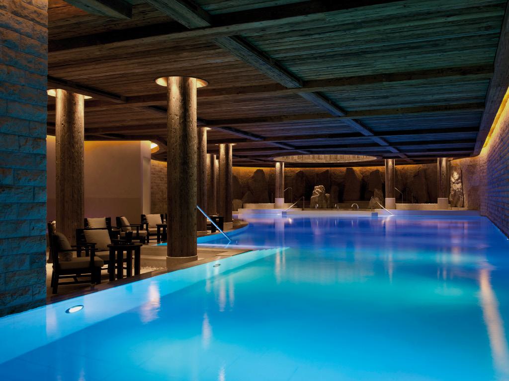 Hôtel Alpina Gstaad - piscine