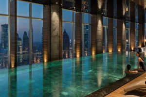 Four Seasons - Pool in Shangaï