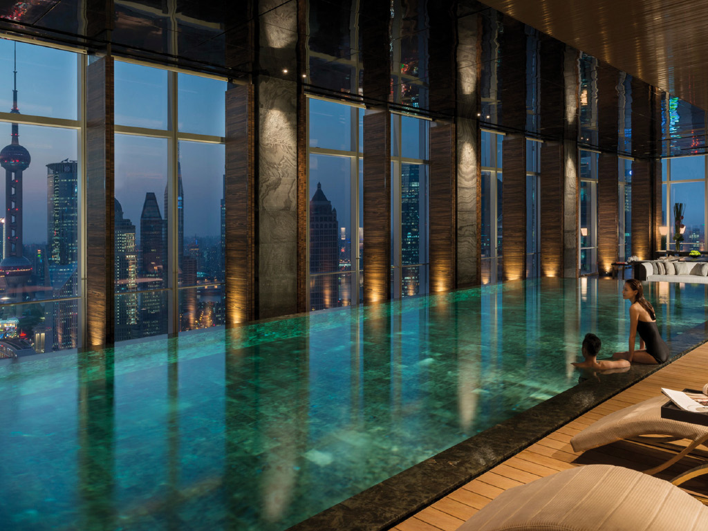 Four Seasons - Pool in Shangaï
