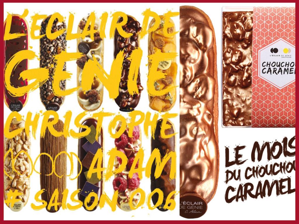 Pâtisseries Monomaniaques - L'Eclair de génie - Paris