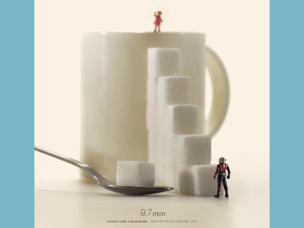 Miniature Calendar - Tatsuya Tanaka 2