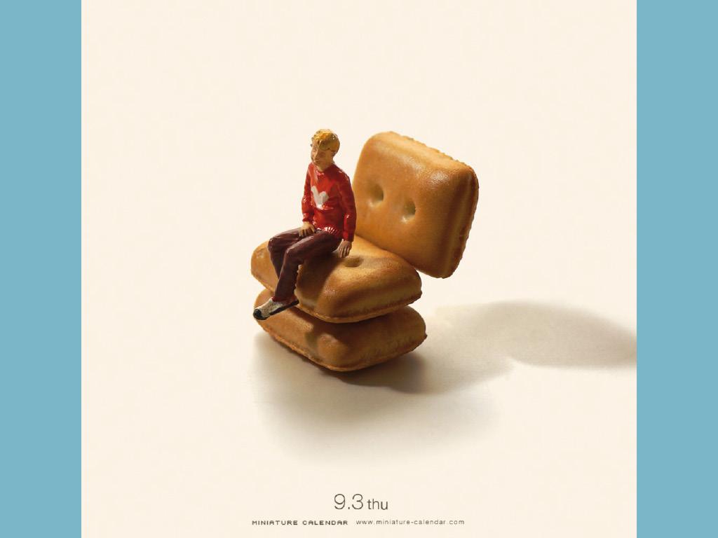 Miniature Calendar - Tatsuya Tanaka 5
