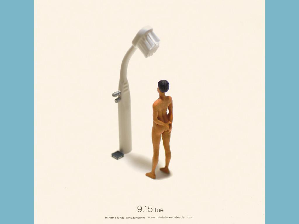 Miniature Calendar - Tatsuya Tanaka 3