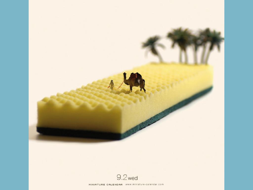 Miniature Calendar - Tatsuya Tanaka 4
