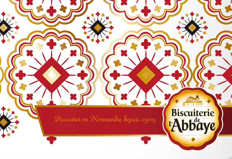 Logo et style graphique – Biscuiterie de l'Abbaye