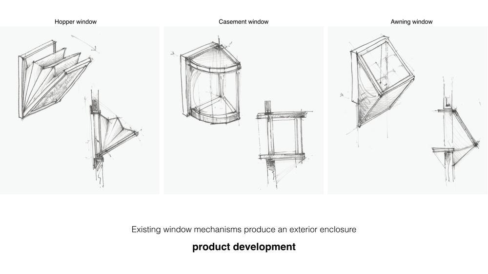 Fenêtres plans produits